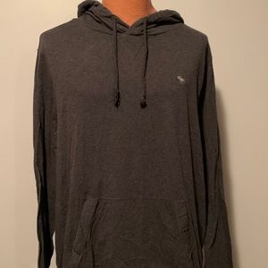 A&F Hooded pullover Tshirt Muscle Fit 2X